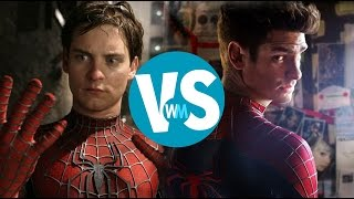 Repeat youtube video Tobey Maguire vs. Andrew Garfield as Spider-Man