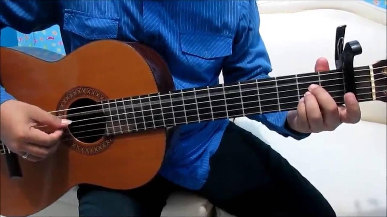 Belajar Kunci Gitar Anji Dia Petikan - YouTube