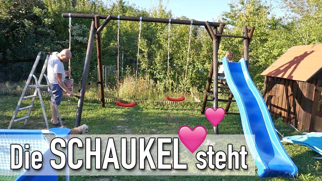 Ordentlich Schaukel und Rutsche im Garten | VLOG #595 | DIANA DIAMANTA - YouTube EH31