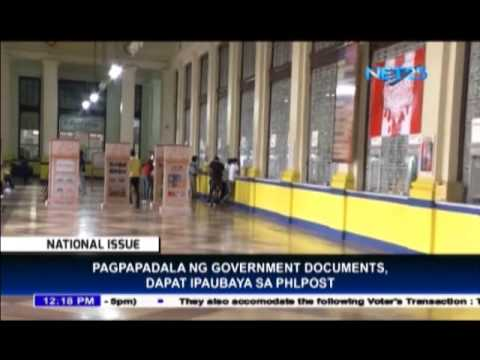 Philpost asks government offices to use their services