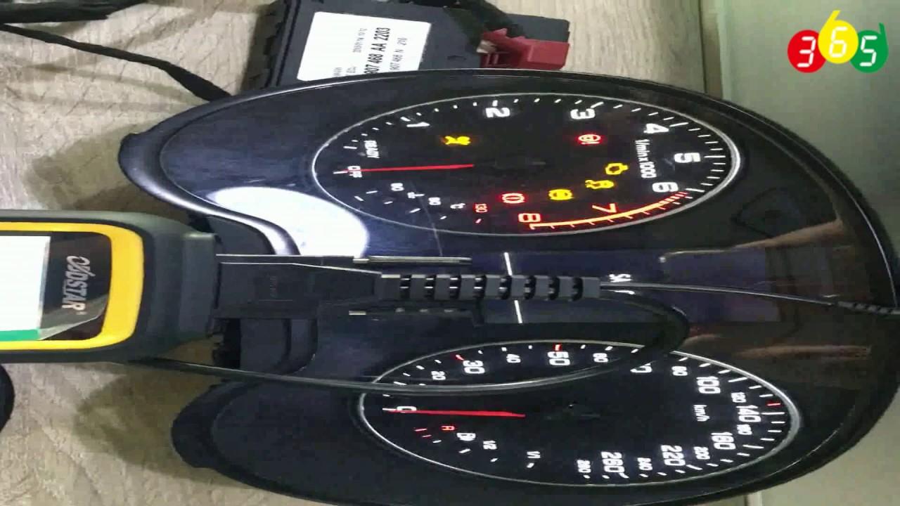 OBDSTAR X300M Audi A3 MQB system odometer correction- obdii365
