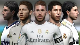 vuclip Sergio Ramos from FIFA 06 to 16 (Face Rotation and Stats)