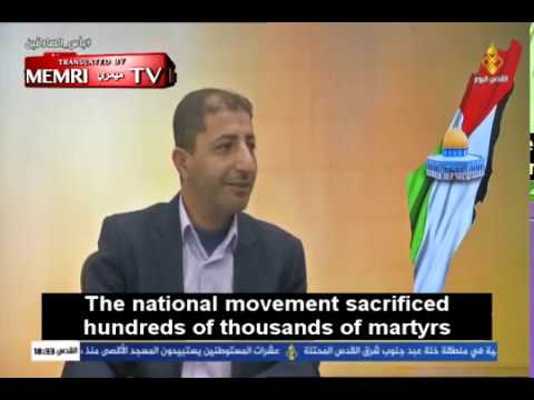 Palestinian Activist Yaser Mazhar Calls On Palestinians To Carry Out Suicide Bombings In Israel