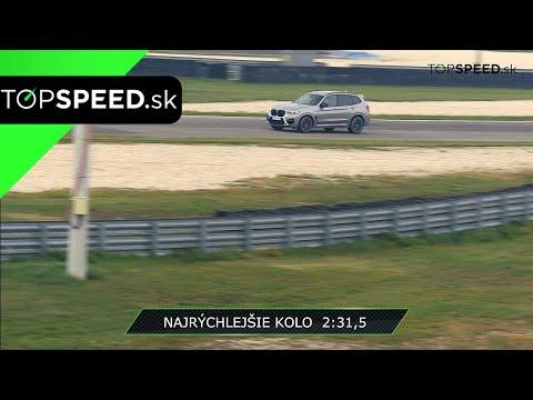 Test BMW X3M Competition - Najrýchlejšie SUV SlovakiaRingu