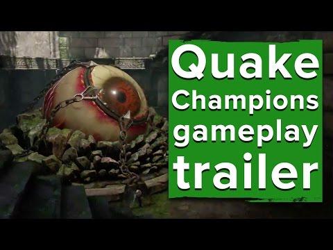 Quake Champions Gameplay Trailer - Quakecon 2016
