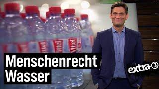 Wasser, Plastik, Ausbeutung | extra 3 | NDR