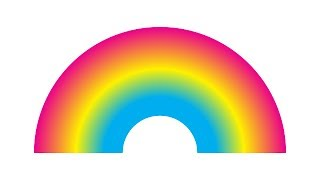 Make a Blended Rainbow in Illustrator