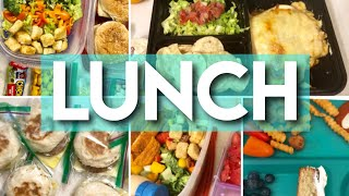 EASY LUNCH IDEAS FOR WORK + KIDS | WHAT MY HUSBAND PACKS FOR LUNCH + KIDS SUMMER LUNCHES JULY 2019