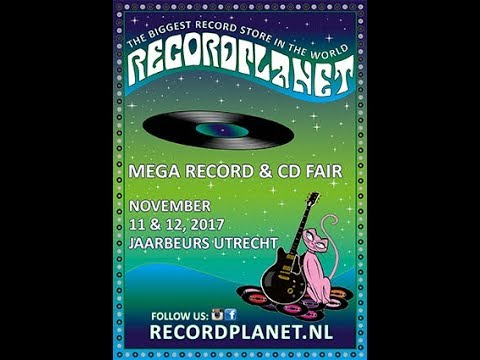 2017 record fair in Utrecht: Interviews and LPs purchased