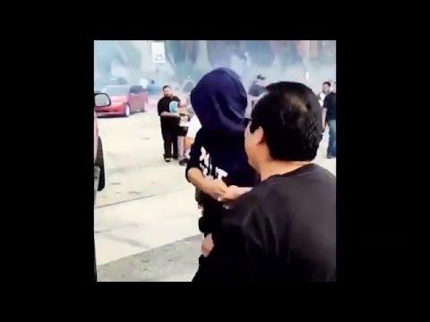 Cops Shut Down YG And Nipsey Hustle FDT 'Fuck Donald Trump' Music Video