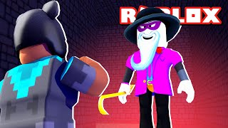 I Had To 1v1 SCARY LARRY To Beat ROBLOX BREAK IN...