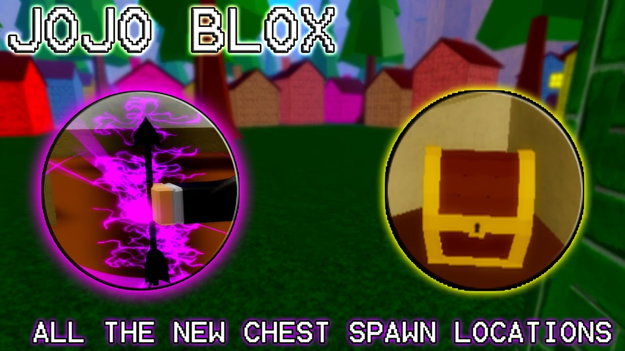 Jojo Blox All New Chest Spawn Locations Youtube Jojo blox all chest,stand arrow,rebirth arrow location and how to obtain all combatsdio daa. jojo blox all new chest spawn locations