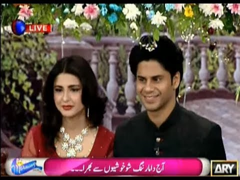 Maryam Fatima & Haris Waheed in Morning Show