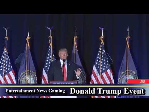 Donald Trump Rally in Bedford, New Hampshire [ MUST WATCH ]