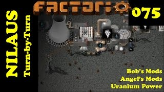 Lets Play Factorio S3E75 - Nuclear Power