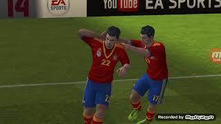 FIFA 2014 Чемпионат Европы 1 8 финала Ответный матч Испания Нидерланды 4 2
