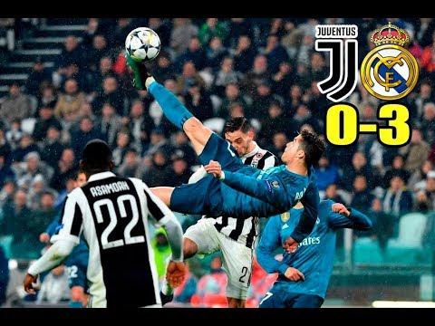 Juventus vs Real Madrid 03/04/2018 Champions league 2018 | Mi resumen del partido