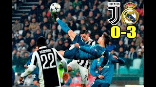 Juventus vs Real Madrid 03/04/2018 Champions league 2018 | Mi resumen del partido