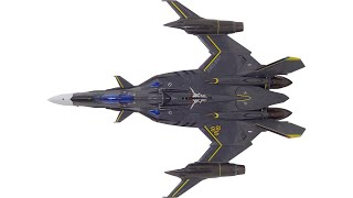 Scorched Earth Toys @ anymoon.com reviews Bandai's 1/60 DX YF-29 Oz...