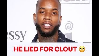 Tory Lanez IS A LIAR!! He DOESN'T CARE ABOUT BL@CK WOMEN!!