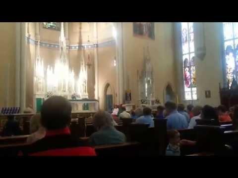 Emmanuel Catholic Church Offertory Hymn - Be not Afraid