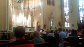 Emmanuel Catholic Church Offertory Hymn - Be not Afraid