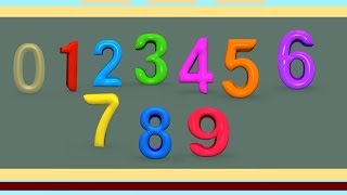 Learn Numbers & Colors Song for Toddlers - Learn to Count - Learn Numbers Colors for Preschool Kids