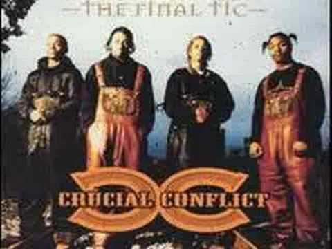 CRUCIAL CONFLICT BACK AGAINST THE WALL(BONE THUGS DISS)
