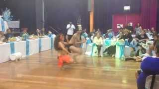 A COOK ISLAND KAPARIMA & DRUM DANCE DUET