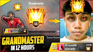 Top 1 Grandmaster in 15 Hours🔥😎Full Highlights Season 18 !!