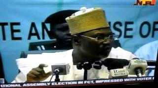 Prof Attahairu Jega-INEC Chairman: Press Conference on Nigeria Election 4/2011