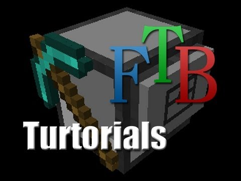 Minecraft - FTB Turtle Excavate And Tunnel Programs - Turtorials
