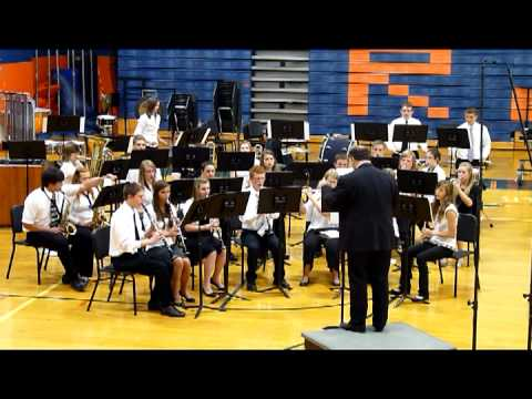 Midwest Central Band playing Abram's Pursuit