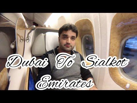 EMIRATES EK620 Dubai 🇦🇪 To Sialkot 🇵🇰 Business Class Experiences 777-300 ER