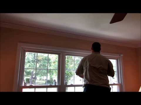 Installing  Blinds /  Room Darkening Blinds With KVUSMC