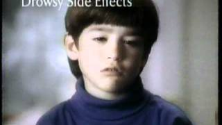 Children's Sudafed Cold & Cough Commercial (1997)