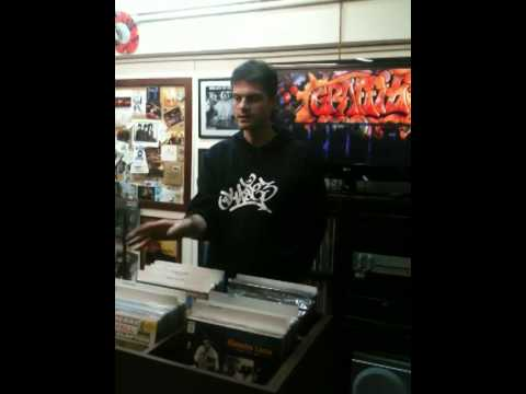 Music Works Record Shop, Athens Greece,  21-2-2014. Wild Style screening