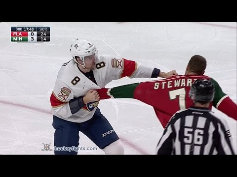 Dylan McIlrath vs Chris Stewart Dec 13, 2016