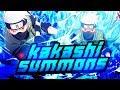 ** SUSANOO KAKASHI SUMMONS ** | ** Naruto Ultimate Ninja Blazing Summons *
