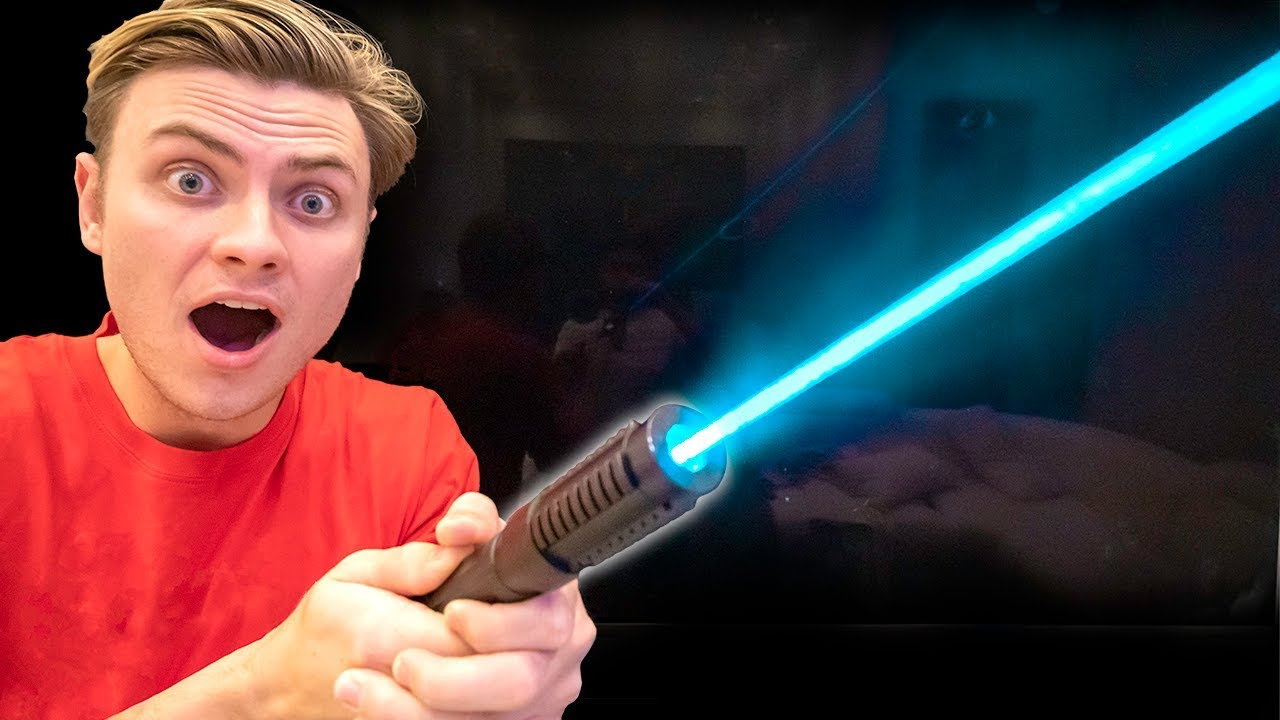 I Found A Real Star Wars Lightsaber Youtube