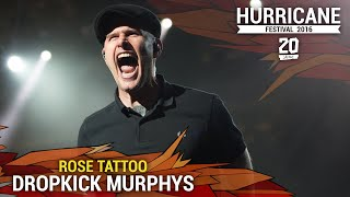 "Hurricane Festival 2016 | Dropkick Murphys - ""Rose Tattoo"""