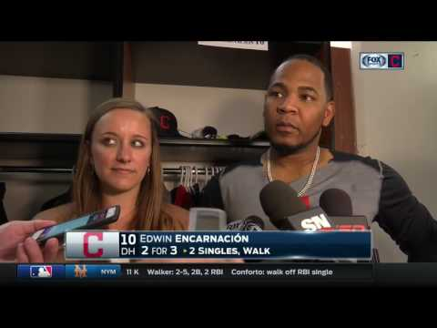 Edwin Encarnacion: Toronto Blue Jays crowd gained respect from me & Cleveland Indians after ovation