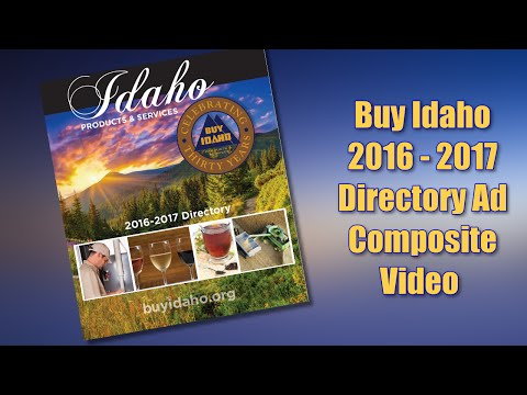Buy Idaho 2016   2017 Directory Ads Composite Video With  All Advertisers