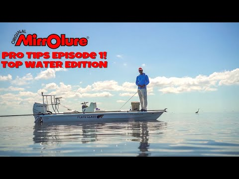 Mirrolure Episode Pro Tips Episode1 / Top Water Lures