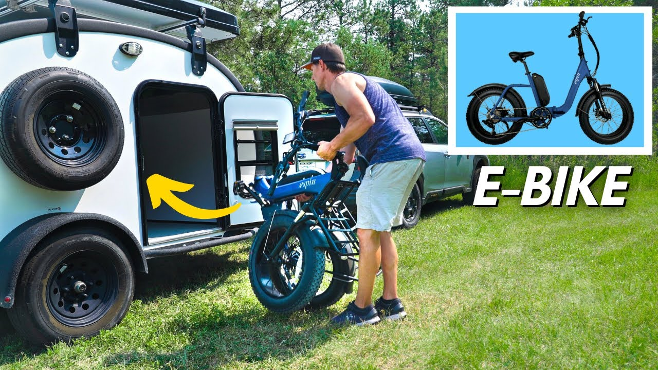 Honest Review of FOLDABLE E-BIKES for Camping and Small Trailer Life