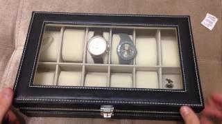 Шкатулка для часов купленная на Алиэкспресс