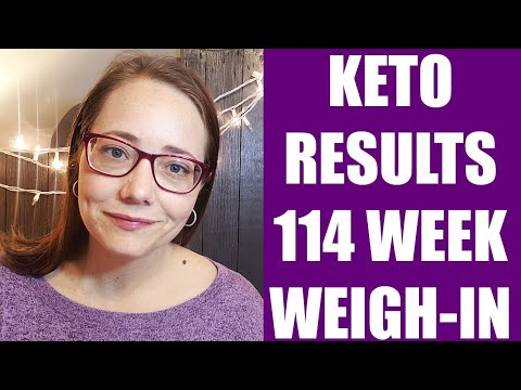 Keto Results   114 Week Weigh-in   Weight Loss Journey #ketotransformation