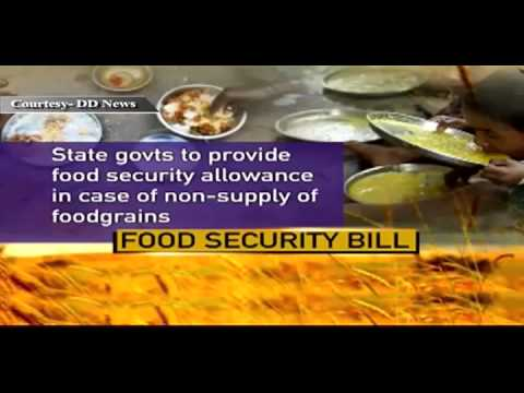 National Food Security Bill Highlights