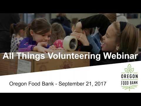 All Things Volunteering Webinar