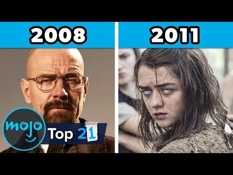 Top 21 Best TV Series of Each Year (2000 - 2020)